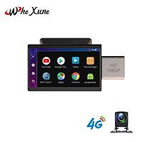 Camera hành trình ô tô, xe hơi nhãn hiệu Whexune F8 tích hợp 4G, Wifi, màn hình cảm ứng 3 inch - Hàng Nhập Khẩu