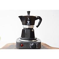 Combo ấm pha cà phê Bialetti Moka Express kèm bếp điện từ