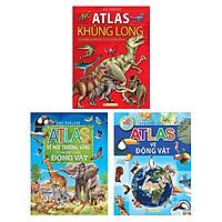 Bộ Sách Atlas Thế Giới Tự Nhiên (Bộ 3 Cuốn)