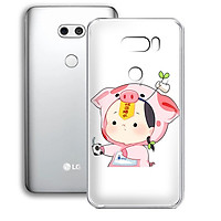 Ốp lưng điện thoại LG V30 - 01253 7876 LITTLEBOY02 - Silicon dẻo - Hàng Chính Hãng