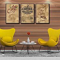 Tranh canvas treo tường Decor Tranh treo quán cafe 02 - DC115