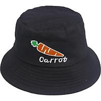 Nón bucket tai bèo Cà Rốt dành cho nam và nữ, vành xụp chống nắng tốt, chất liệu vải mềm mại thời trang