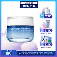 Kem dưỡng ẩm dành cho da thường và da khô Laneige Water Bank Moisture Cream Ex 50ml