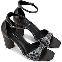 Giày sandal cao gót quai họa tiết da báo - Sablanca 5050SN0113