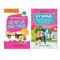 Combo Sách kỹ năng sống cho trẻ - Kỹ năng kiềm chế cảm xúc
