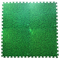 Bộ 4 tấm Thảm xốp chống trơn trượt Thoại Tân Thành hình thảm cỏ xanh (60x60cm)