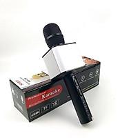 Micro Karaoke Bluetooth Không Dây Kiêm Loa GUTEK SD08 Đa Năng, Âm Thanh Hay, Micro Bắt Giọng (Cắm Usb, Thẻ Nhớ, Cổng 3.5)  - Hàng chính hãng