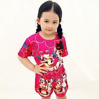 Set đồ bộ quần áo trẻ em in hình Sóc dễ thương - Độ tuổi 1 - 10 -AKN005
