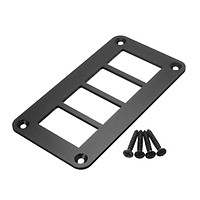 FOR ARB Carling Type Car Boat Rocker Switch Panel Housing Patrol Holder Assembly (3way)