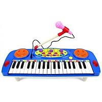 Đàn Organ Điện tử 37 phím, đàn Piano cho bé thỏa sức sáng tạo với âm nhạc - Tặng kèm micro thu âm chất lượng cao cho bé