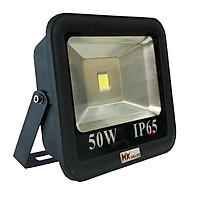 Đèn pha LED ngoài trời HKLED tròn chóa rộng 50W - IP65