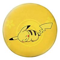 Gối Ôm Tròn In Hình Pikachu Nằm Ngủ - GOMA310