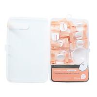 Mặt nạ nén Nhật Bản Miniso Compressed Mask With Container trong hộp 30 miếng kèm bát mặt nạ tiện lợi ( trắng - hồng ) chính hãng - MNS055