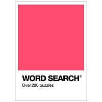 Colour Block Puzzle - Wordsearch (Coral)