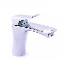 Vòi lavabo nóng lạnh Eurolife EL-1002S (Trắng bạc)