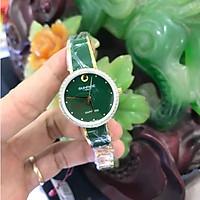 Đồng hồ nữ SUNRISE 9968SB xanhL, đính hạt, Vành Đá sang trọng quý phái, full ãng Kín