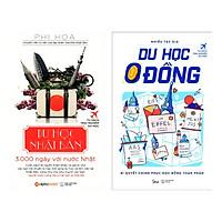 Combo Sách Kỹ Năng Du Học: Du Học Nhật Bản +  Du Học 0 Đồng