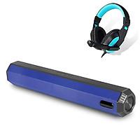 Loa Thanh Bluetooth Gaming Soundbar Thiết Kế Mới Công Suất Lớn A21CT Để Bàn Dùng Cho Máy Vi Tính PC, Laptop, Tivi + Tặng tai nghe Chụp Tai CT770 ( Giao màu ngẫu nhiên )