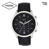 Đồng hồ nam FOSSIL dây da Neutra FS5452 - màu đen