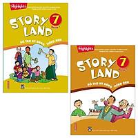 Combo Story Land - Bổ Trợ Kỹ Năng Tiếng Anh 7: Quyển 1 Và 2 (Bộ 2 Quyển)