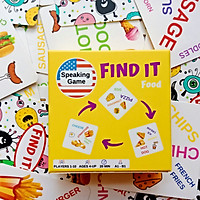 Find It - Boardgame for practicing speaking English - Game luyện nói tiếng Anh