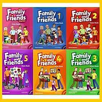 Family and Friends 1st - Full level từ starter đến 5 (gồm CB và WB) - kèm file nghe