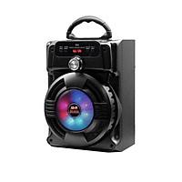 Loa Bluetooth Hát Karaoke GUTEK JHW802 Có Mic, Có Dây, Có Đèn Led Đổi Màu, Loa Nghe Nhạc Không Dây Karaoke Với Âm Thanh Trung Thực, Âm Bass Đỉnh Cao, Nhiều Màu Sắc - Hàng Chính Hãng