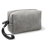 Túi đựng phụ kiện 23x13.6x7.7cm điện tử có dây buộc màu xám  Ugreen 80520  LP285 Hàng Chính Hãng