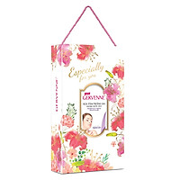 Hộp Quà Sữa Tắm Trắng Da Hương Nước Hoa Gervenne Purple Lily 900g
