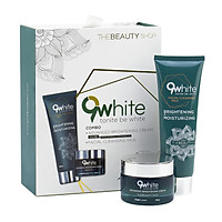 Bộ sản phẩm 9WHITE chăm sóc da mặt từ thiên nhiên giúp trẻ hóa làn da với công thức từ chuyên gia Tây Ban Nha (Chăm sóc da mặt)