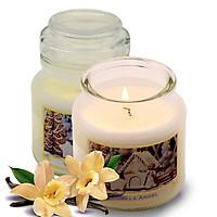 Hũ nến thơm tinh dầu Bartek Vanilla Angel 130g QT06658 - hương bánh vani