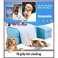 (1 bịch) tã giấy lót chuồng chó mèo (2 size) bỉm thú cưng dạng miếng