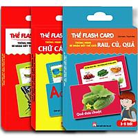 The·Flash Card Thông  Minh Bé Nhận Biết Thế Giới(3 Hộp)