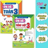 Combo Ôn Hè Toán và Tiếng Việt 3 - Dành cho học sinh lớp 3 lên lớp 4 (2 cuốn)