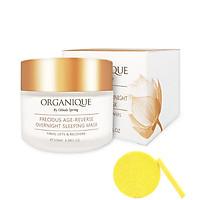 Mặt Nạ Ngủ Chống Lão Hóa Organique Precious Age-Reverse Overnight Mask (100ml) - Tặng Kèm Mút Rửa Mặt