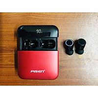 Tai nghe không dây PISEN True Wireless A-Buds 2000 ( Led , IPX6, Pin 50mAhx2 , Hộp sạc 2000mAh , dự phong) _ Hàng chính hãng