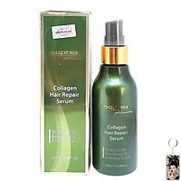 Tinh dầu phục hồi tóc Collagen Sophia Platium Hàn Quốc 100ml tặng kèm móc khoá