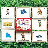 Bộ flashcard giúp trẻ phát triển ngôn ngữ và giao tiếp - Thẻ học thông minh