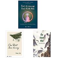 Bộ 3 cuốn sách nên đọc về đạo Bụt: Bụt Là Hình Hài Bụt Là Tâm Thức - Cõi Bụt Bao Dung - Áo Vách Núi