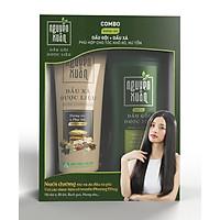 Bộ sản phẩm Dầu gội 200ml và Dầu xả 180ml Nguyên Xuân dưỡng tóc chuyên sâu