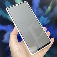 Kính cường lực cho Xiaomi Mi 10 Lite chống nhìn trộm full viền đen