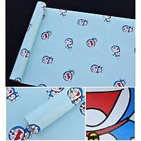 Combo 10m giấy dán tường Doraemon có keo sẵn - -cuộn 10m khổ 45cm