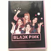 Sổ blackpink mini A6 nền đen