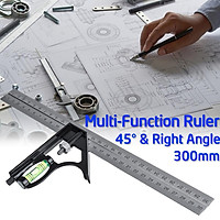 Stainless Steel Multi-Function Combination Angle 45 Degree Right Angle 300mm