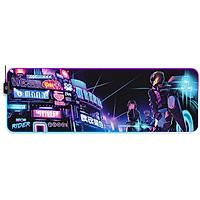 Lót chuột Steelseries QcK Prism XL RGB Neon Rider Edition - Hàng chính hãng