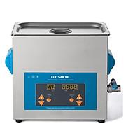 Bể rửa siêu âm Gtsonic,VGT-1860QTD,Thể tích 6lít giúp tẩy rửa, làm sạch, vệ sinh, bảo dưỡng các vật dụng phòng thí nghiệm, công nghiệp cơ khí, dụng cụ nha khoa/y tế, dung cụ gia đình, trang sức, đồng hồ – Hàng Chính Hãng