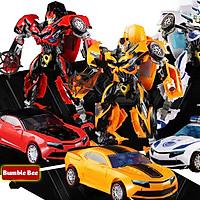 Robot biến hình ôtô Transformer cao 35cm mẫu Bumble Bee 6699-5D