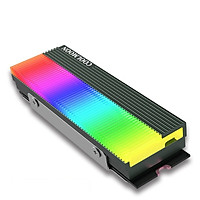 Tản Nhiệt  Led RGB Coolmoon CM-M73S cho ổ cứng SSD M2 2280 - hàngnhập khẩu