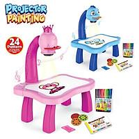 Đồ chơi bàn vẽ có đèn chiếu hình thông minh cho bé sáng tạo - Máy chiếu đa năng tiện ích