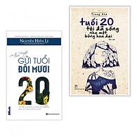 Combo Thư Ngỏ Gửi Tuổi Đôi Mươi + Tuổi 20 Tôi Đã Sống Như Một Bông Hoa Dại (Tặng Bookmark PĐ)
